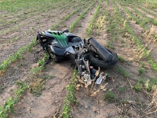 St. Cloud man injured in M ??/ C crash