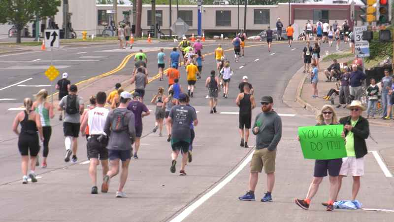 Police say there were no major incidents at this year's Grandma's Marathon