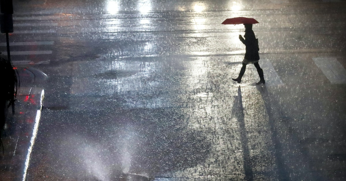 After much-needed rain, cooler temperatures are in the forecast