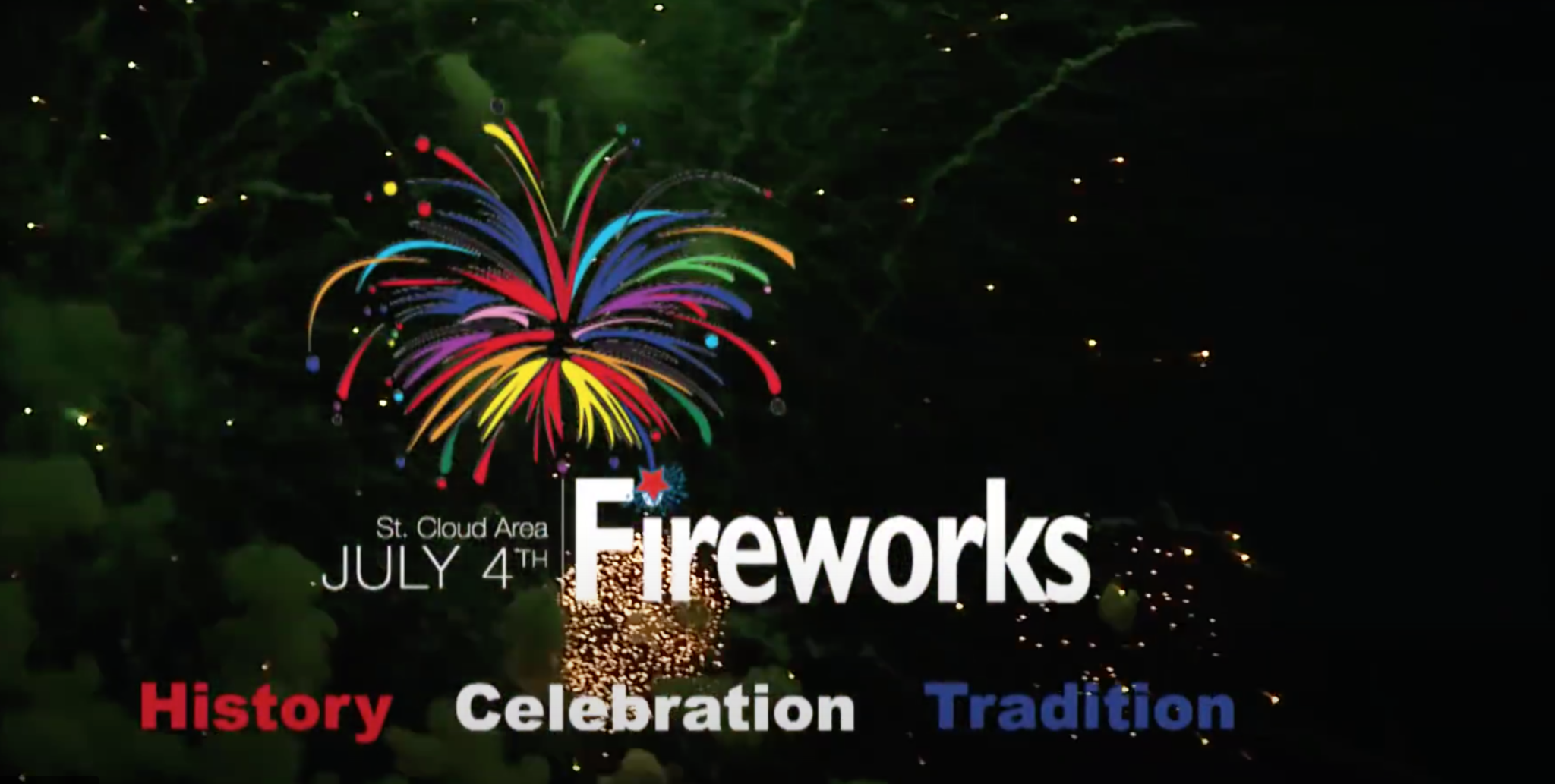 St. Cloud Area July 4th Fireworks Illuminates New Honorary Commissioner